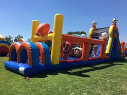 60ft Sports Obstacle Course