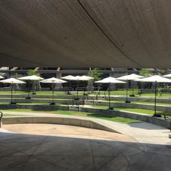 Market Umbrella Setup