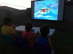 Backyard Video Entertainment