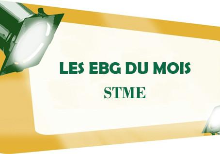EBG DU MOIS: STME