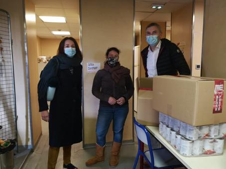 Le Groupe ARTHES se mobilise pour soutenir l'épicerie solidaire du Tiers-Lieu de Sainte-Marthe