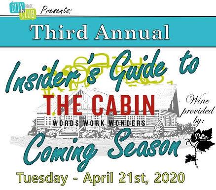 Salon: An Evening at The Cabin
