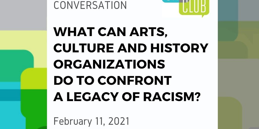 City Club of Boise Virtual Conversation: What can arts, culture & history orgs do to confront a legacy of racism?