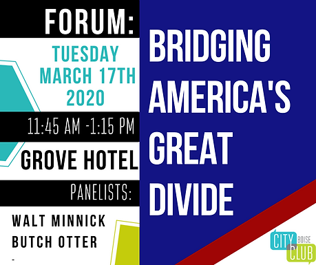 Forum: Bridging America's Great Divide