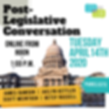 2020 Annual Post Legislative Session Conversation