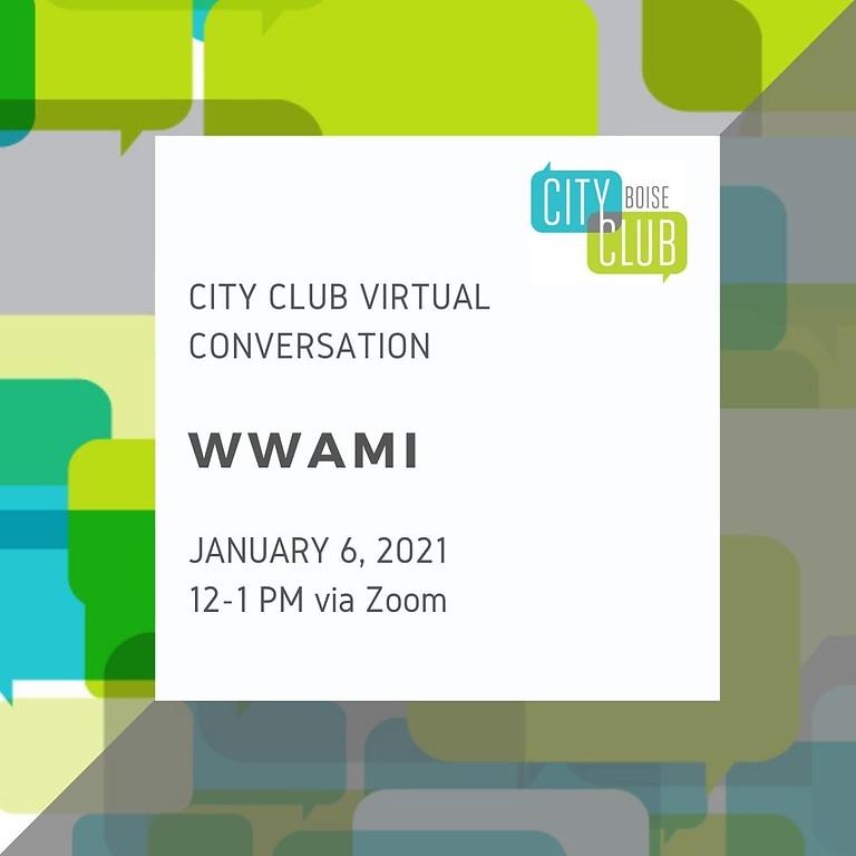 Virtual Conversation: WWAMI