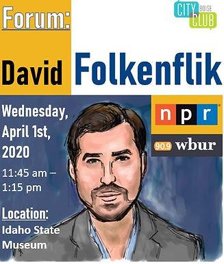 Forum: David Folkenflik