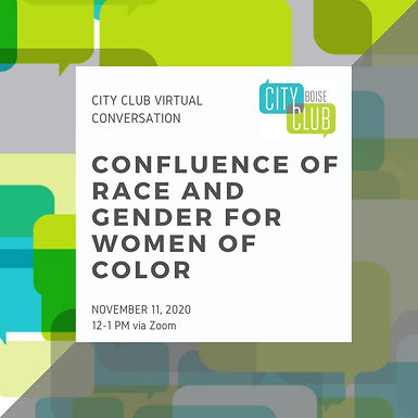 Virtual Conversation: Confluence of Race and Gender for Women of Color