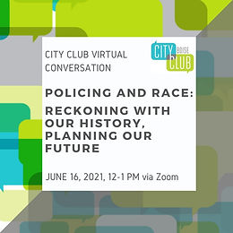 City Club of Boise Virtual Conversation: Policing and Race