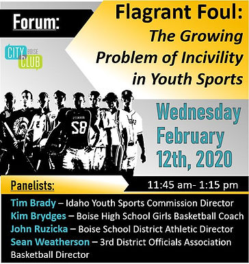 Forum: Flagrant Foul: The Growing Problem of Incivility in Youth Sports