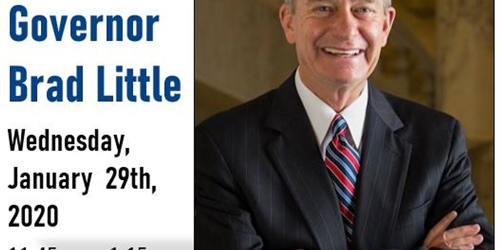 Forum: Governor Brad Little