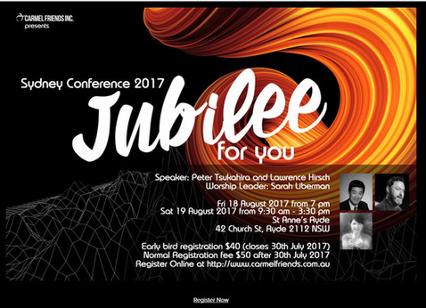 Jubilee for you Conference - Sydney