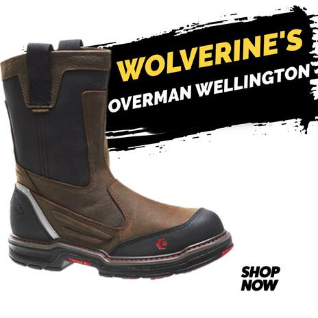 Wolverine Overman Wellington CT WP