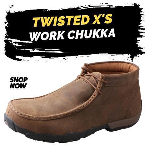 Twisted X Work Chukka Driving Moc