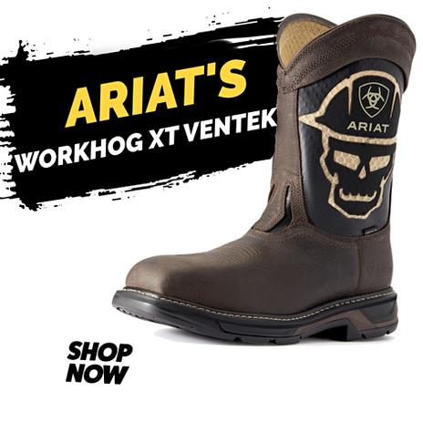 Ariat WorkHog XT VentTEK Bold Carbon Toe Work Boot
