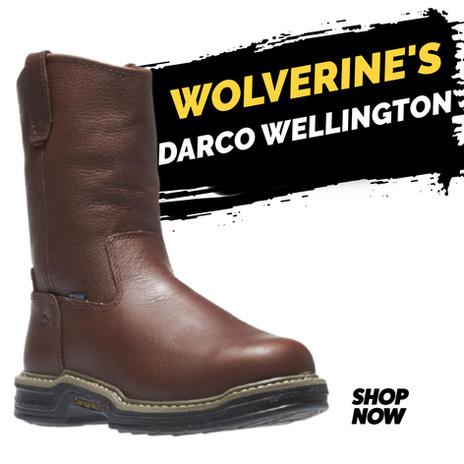 "Wolverine 10"" Darco Wellington ST WP"