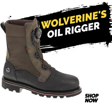 Wolverine Oil Rigger Boots ST WP