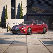 Lexus LS 500 Shot 02