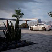 Lexus LS 500 Shot 01