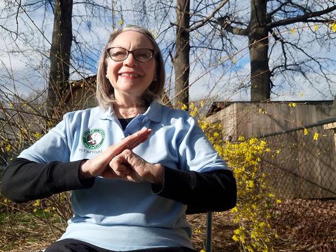 Mary Cordray Tai Chi Instructor Seated T