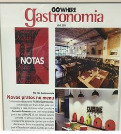 CONSULTORIA - GO WHERE GASTRONOMIA
