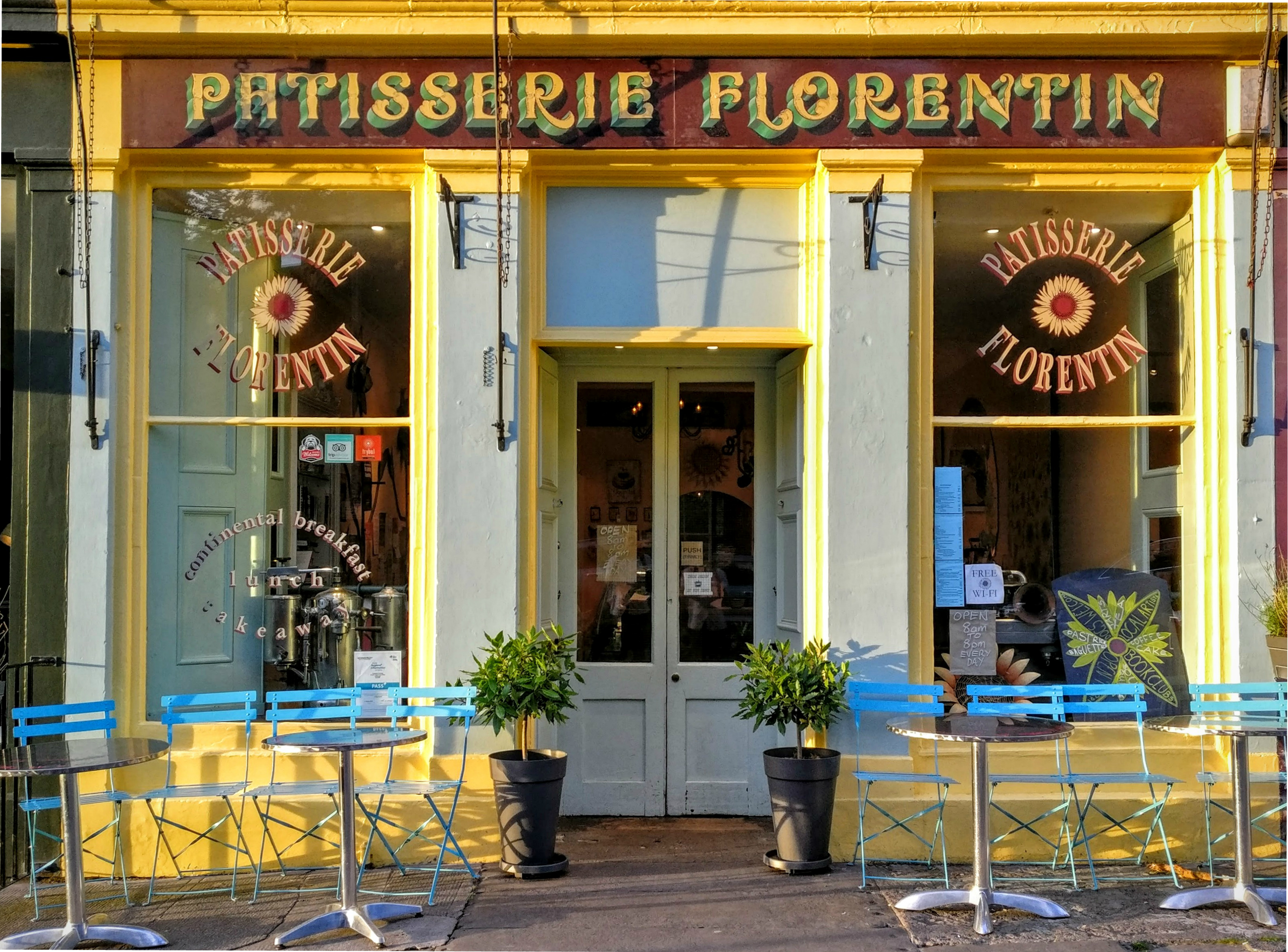 Patisserie Florentin profile level