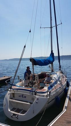 Segelyacht Bavaria 34 Speed