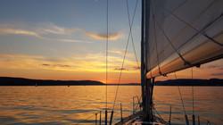 heiratsantrag - segelboot