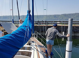 Skippertraining am Bodensee
