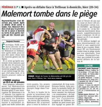 La Montagne - Malemort / Trélissac