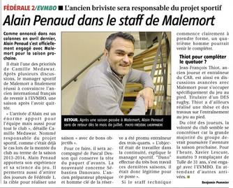 La Montagne - Alain PENAUD