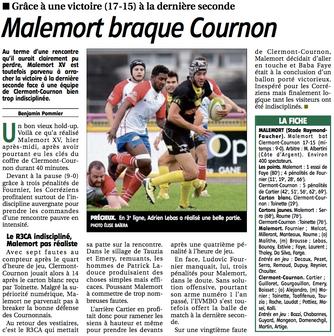 La Montagne - Malemort / Clermont-Cournon
