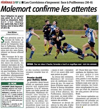 La Montagne - Malemort / Puilboreau