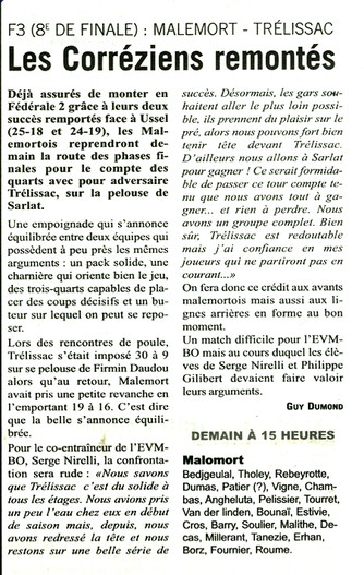 L'Echo - Malemort / Trélissac