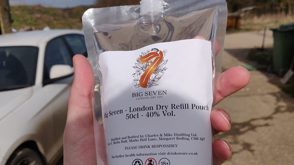 Big Seven - London Dry - 50cl Refill Pouch