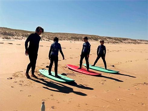 Mimoun SurfSchool - école de surf le porge