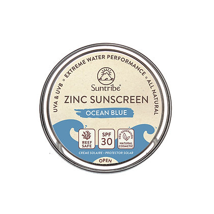 ALL NATURAL ZINC SUNSCREEN FACE & SPORT - Ocean Blue