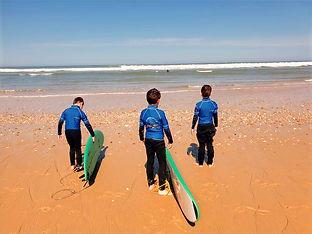 Mimoun SurfSchool - école de surf à Le P