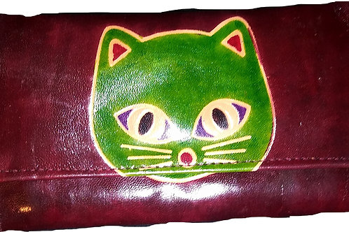 ZURI CAT DESIGN PURSE