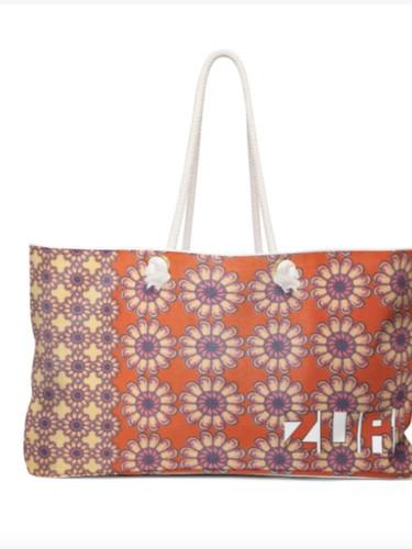 Zuri Flowery Tote bag