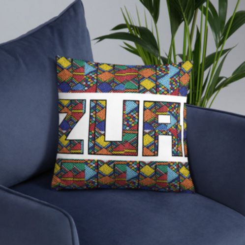 Zuri Designs Throw pillow