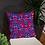 Thumbnail: Zuri flowery Throw pillow