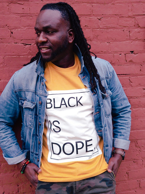 BLACK IS DOPE T-SHIRT