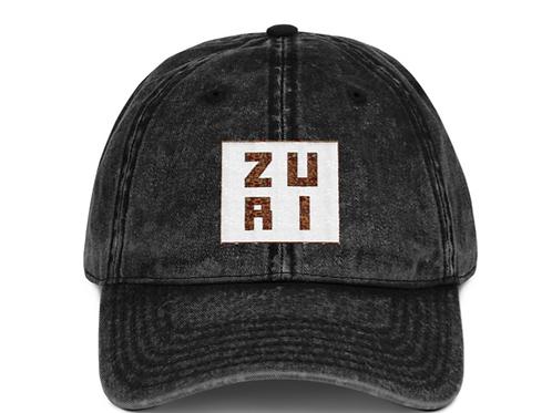 Zuri baseball cotton Twill cap
