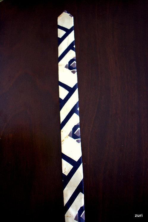 Zebra stripe Tie