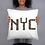 Thumbnail: NYC THROW PILLOW