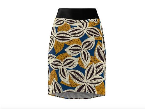 Zuri Designs Pencil Skirt