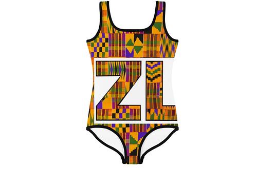 Adult Kente Swimsuit