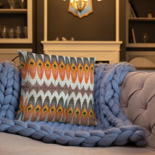 Zuri Zulu Print Pillow