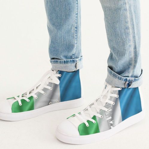Zuri Hightop Canvas Shoes